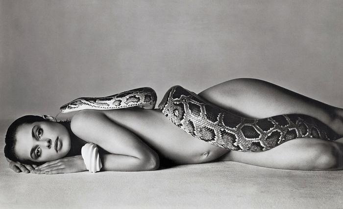 Настасья Кински на снимке Ричарда Аведона